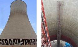 Ausgelegt für Load1000kgs bis 2000kgs Bauaufzug für Kraftwerk