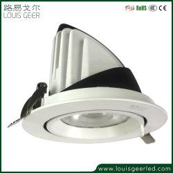4 дюймов на отключение CRI96 гражданин початков светодиодная лампа 20 Вт квадратные светильники акцентного освещения светодиодная лампа энергосберегающая лампа набегающей