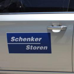 Logo personalizzato decorazione auto in vinile rullo riflettente adesivi pubblicità all'aperto Adesivo magnetico per auto per la stampa di striscioni