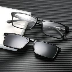 최신 Vintage 클래식 Anti Blue Light 안경 세트 편광 클립 선글라스 보호 컴퓨터 안경