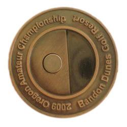 Produttore driver Head Professional uretano Factory OEM taglierina Notte Marcatore a sfera con magnete vuoto personalizzato