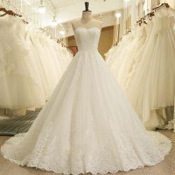 Hwd048 2021 nieuwe Mori Slim BH Bruiloft jurk lang getailed Europese en Amerikaanse stijl High End Private Custom jurk bruids