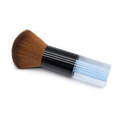 1PC専門の理髪師のブラシの大広間のスタイリストの理髪のツールのAccessorieの毛はきれいなブラシの毛の切断の首の表面塵払いを除去する