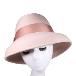 الجملة 2021 أزياء جديدة 18 لون في بنما قبعات [أونيسإكس] 100% [وول] شعر عرس واسعة [فدورا] قبعة