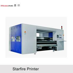1800mm 3200mm Digital Industrial de Impressão Directa de licra de algodão, Linin, Challis e Rayon
