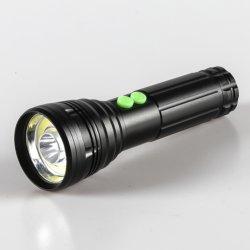 مصباح LED وامض ثنائي الضوء COB 200 لومن ضوء وامضات وضوء غامرة، أوضاع تشغيل متعددة للطوفان والضوء والجمع