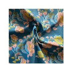 Fournisseur en gros de la brosse en textile de polyester Hometextile imprimé floral