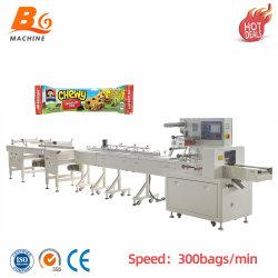 Bg промышленного использования хлеба мешки пластиковой упаковки, автоматическая загрузка пластиковой упаковки машины