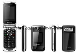 Две SIM-карты двойной режим ожидания 2,4-дюймовый ЖК-дисплей QVGA MP3/MP4/FM-мобильного телефона Bluetooth WAP и GPRS