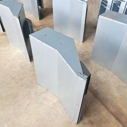 غلاف معدني مخصص من الألومنيوم لمصنعي المعدات الأصلية (OEM) للإلكترونيات معدنية الألواح المخصصة الحاوية