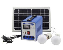 نظام الطاقة الشمسية بقدرة 8 واط بقدرة 6 واط قابل للنقل بقدرة 10 واط مجموعات مع رسوم للمنزل