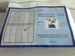 Coperchio di PVC libero adesivo del libro
