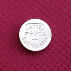 0% زئبقي قلوية خلية زر AG12/Lr43 للمشاهدة