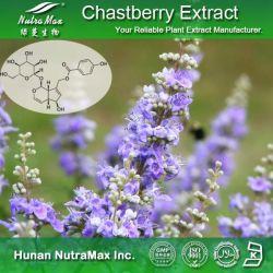 Высокое качество дерева Chaste Берри извлечения порошка (4: 1~20: 1, 5%, Vitexin Agnuside Flavones 5%, 0,5% примерно на 2%)