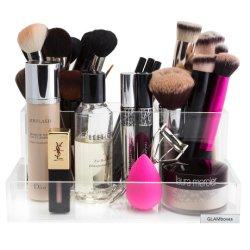 Акрил щеткодержатель случае органайзера для макияжа