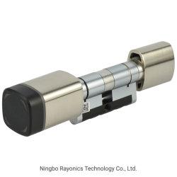 Formas Multi-Unlocking Perfil Euro inteligente do cilindro da fechadura de porta única com cilindro ajustável para o hotel e o Office