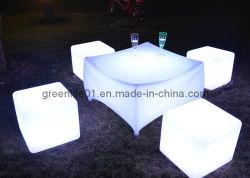 RGB LED impermeable y taburetes y mesas