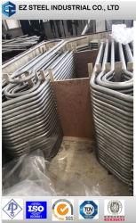 أنابيب مثنية على شكل U لمفاحن الحرارة، ASTM A213/A213م، T5، T11، T12، T22، OD 12,7-76,2 مم، Wt 0,5-5,16 مم