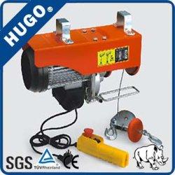 Construcción de tipo PA 200kg 400kg 600kg de Mini grúas Polipasto eléctrico