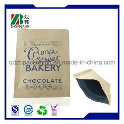 La vente du maïs soufflé chaud à l'Emballage Sac en papier kraft
