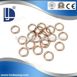 Ligas de Prata Phos-Copper aprovado qualidade brasagem Fio de soldagem da haste plana