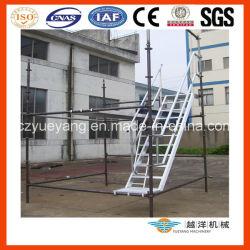 알루미늄 비계 계단(플랫폼 포함