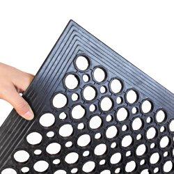 Резиновые коврики пола для кухни Anti-Fatigue коврик Ресторан Бар напольный коврик новые двери коврик коврик для ванной