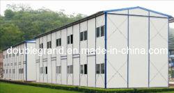 Structure en acier préfabriqué modulaire mobile Maison / maison de conteneur (DG5-001)