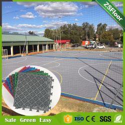 Futsal/Soccer Court استخدام إطارات أرضية مطاطية PP