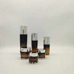 Acryl30ml 60ml 100ml 15g 30g 50g Wasser-Emulsion-Pumpen-Plastikflaschen-Sahne-Glas-kosmetisches Verpacken-Material