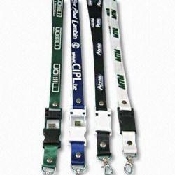昇進! Lanyardの締縄USB Flash Drive、Logo PrintおよびUSB Part Available
