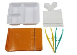 S'habiller Pack / médicaux écouvillon de gaze stérile à usage unique