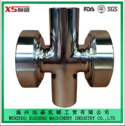 ステンレス鋼Ss304 Ss316Lの衛生4つの方法は連合サイトグラスを交差させる