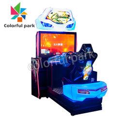 차 모터 시뮬레이터 비디오 게임을 모는 다채로운 공원 오락 기관자전차