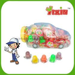 Forma de coche de la Copa de gelatina de frutas