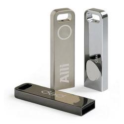 普及した金属の棒128GBの小型鉄の金属USBのフラッシュ駆動機構