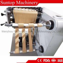 Компьютеризованная автоматический тепловой ATM CAD рулона бумаги клей бумаги, BOPP, ЦПД, ПЭТ, PE рассечение и перемотку назад машины продольной резки перематыватель машины