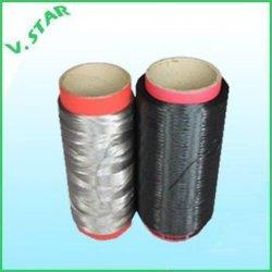 ポリエステル高容量ドープ染色糸 210d ブラック
