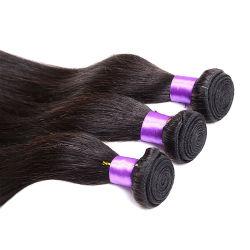 Le roi vierge brésilien sèche directement 4 pcs Les faisceaux de Tissage de cheveux brésiliens de vison Reine sèche produit vierge non transformés 7un cheveu humain