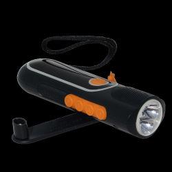 FM/Am Radio Dynamo DEL Torch avec Alarm et Compass Function