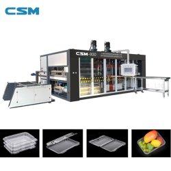 Boîte automatique de bacs de fast-food Conteneur de machine de formage sous vide pour le plastique PP/PS/matériau pet