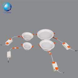 Haute qualité Anti-Vertigo Best-Selling 9W Éclairage du panneau de plafonds d'éclairage LED avec la CE et RoHS
