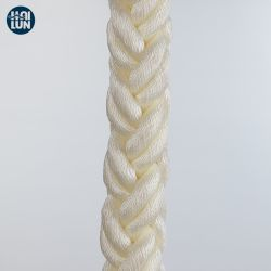 3/4/8/12 Strang-Marineliegeplatz-starkes Plastikstroh-Textilmacrame-Polyester-Polyamid-Nylonfischen-Seile