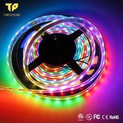 Heißer Verkauf preiswertes wasserdichtes IP65 SMD 5050 RGB 60 LED/Messinstrument flexible LED-Streifen-für Innen-/im Freiendekoration Lighting5.01 wiederholt 2 Kunden