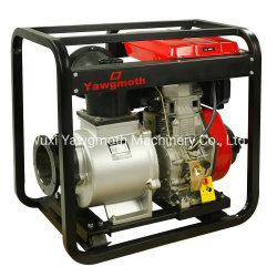 Precio de 4 pulgadas de 6 pulgadas 5 CV del motor Diesel portátil de la bomba de agua, de 10 HP el riego agrícola de la comunidad de bomba de agua móvil