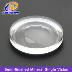 Semi-Finished Mineral 1.523 Visão única Hc Lentes de óculos