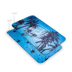 자신의 조밀한 Microfiber 민감하는 승화 비치 타올 와플을 인쇄하십시오