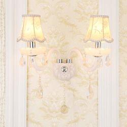 مصابيح LED فاخرة معلقة على الحائط باللون الأبيض K9 بتصميم عصري لوحة سرير رأس غرفة النوم بالحائط (WH-or-162)