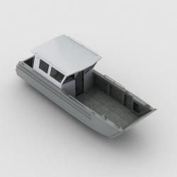 7.9m 26FT Seaking V Hull 알루미늄 용접 랜딩 크래프트 판매