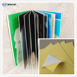 De Filmdistributeur van Polyvinyl Chloride (pvc), De Stijve Film van pvc van de Decoratie Plastic voor het Maken van het Album van de Foto
